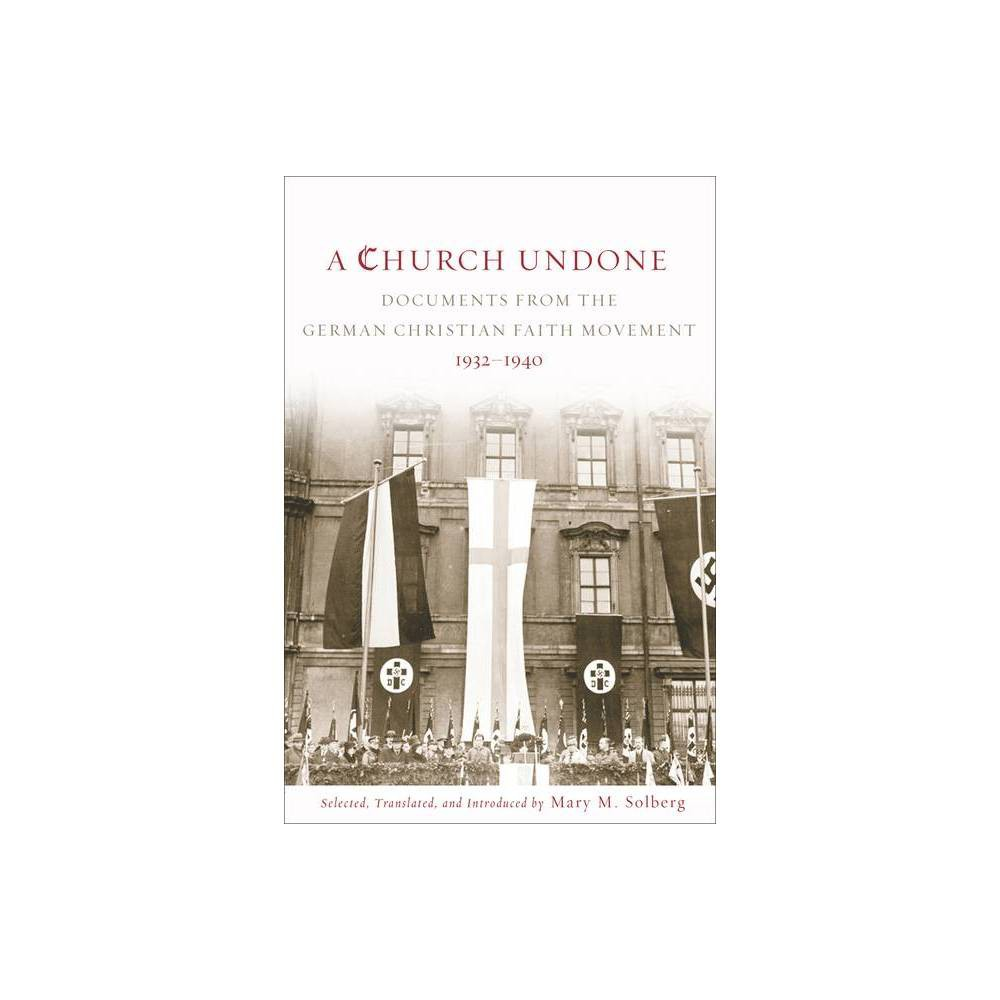 Church Undone By Mary M Solberg Paperback