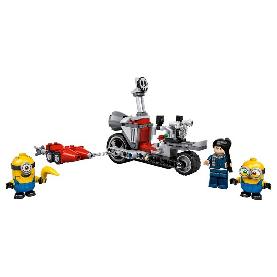 LEGO Minions Unstoppable Bike Chase 75549 Building Kit 136pc image number null