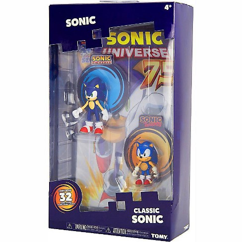 Sonic The Hedgehog Sonic Boom Classic Sonic Action Figure 2 Pack Comic Target