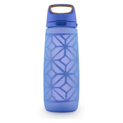 Ello Wren Glass Hydration Bottle 24oz- Blue
