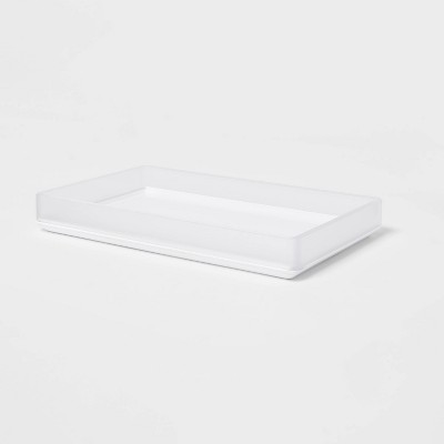 Bathroom Tray Frosted - Room Essentials™