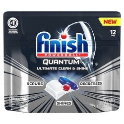 Finish Quantum Ultimate Clean & Shine Dishwasher Detergent Tabs
