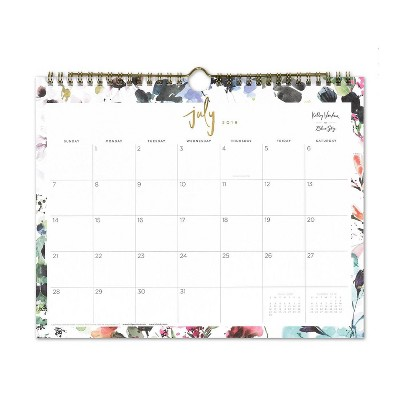 2019-2020 Academic Wall Calendar Multi-color Abstract - Kelly Ventura for Blue Sky