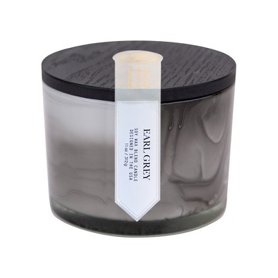 11oz Marbled Coffee Table Candle Earl Grey - The Collection by Chesapeake Bay Candle