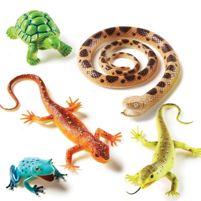 Learning Resources Jumbo Reptiles and Amphibians - 5pc