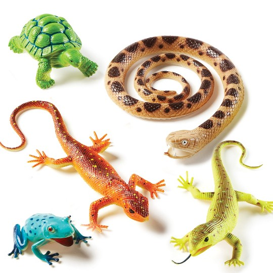 Learning Resources Jumbo Reptiles and Amphibians image number null