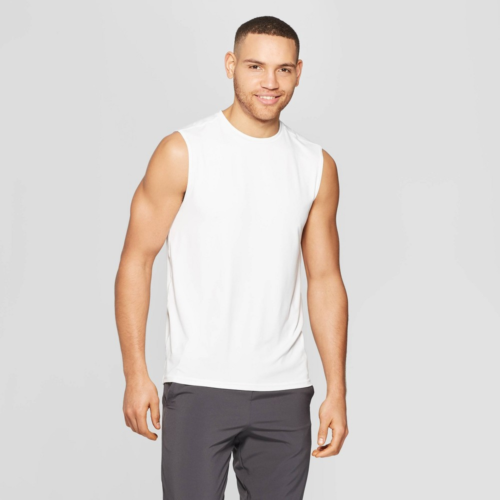 Men's Sleeveless Tech T-Shirt - C9 Champion True White Xxl