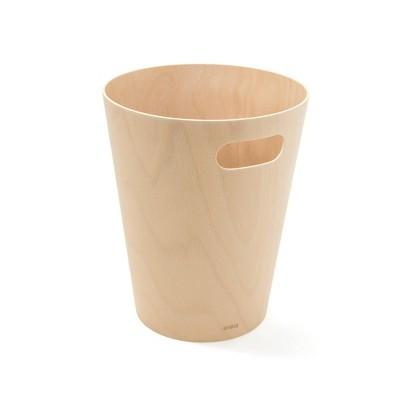 Umbra 2gal Woodrow Indoor Trash Can Natural