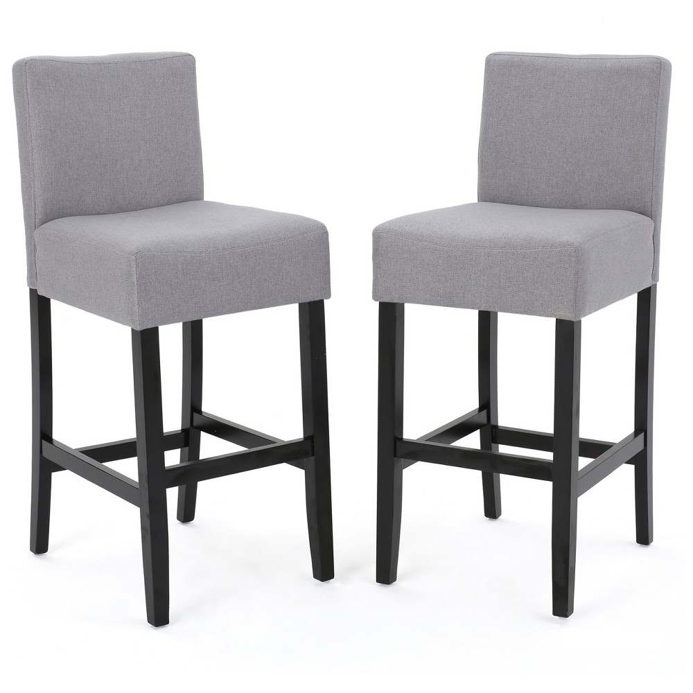 Set of 2 29.5 Lopez Barstools Light Gray - Christopher Knight Home was $231.99 now $150.79 (35.0% off)