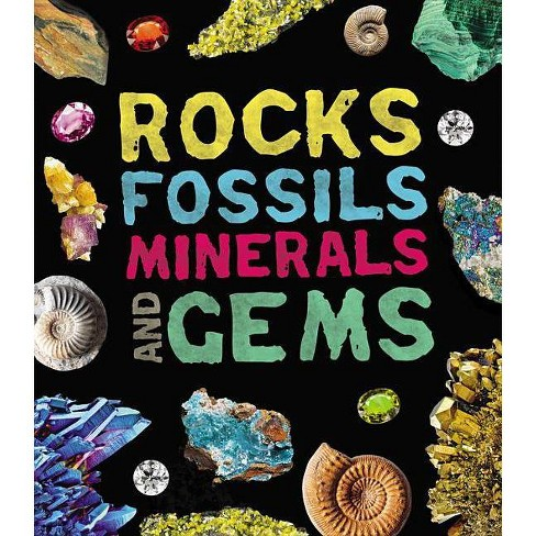 Rocks, Fossils, Minerals, and Gems - by  Claudia Martin (Paperback) - image 1 of 1
