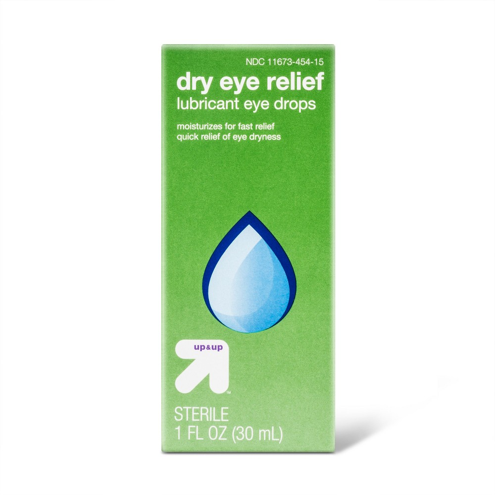 Dry Eye Relief Lubricant Eye Drops - 1 fl oz - Up&Up