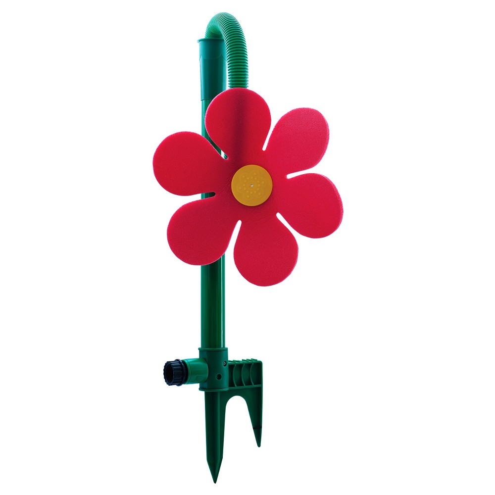 36 Dancing Daisy Kids Gardening Sprinkler - Green/Red - Ray Padula