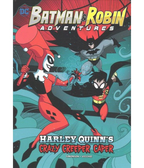 Harley Quinn's Crazy Creeper Caper (Paperback) (Louise Simonson) - image 1 of 1