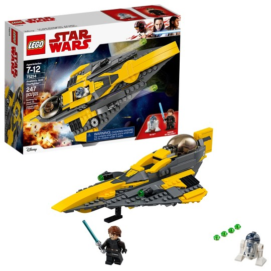 LEGO Star Wars Anakin's Jedi Starfighter 75214 image number null