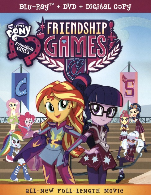 My little pony:Equestria girls friend (Blu-ray) - image 1 of 1