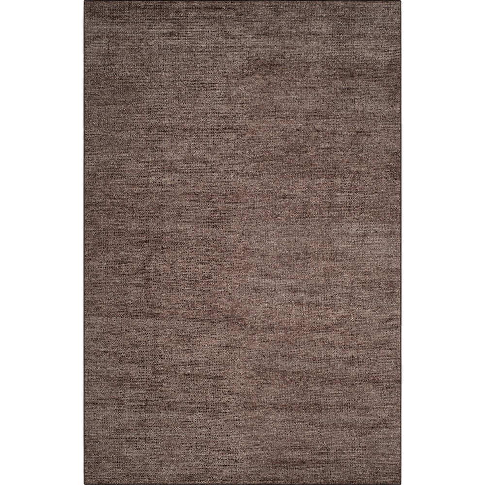 5'X8' Solid Knotted Area Rug Charcoal (Grey) - Safavieh
