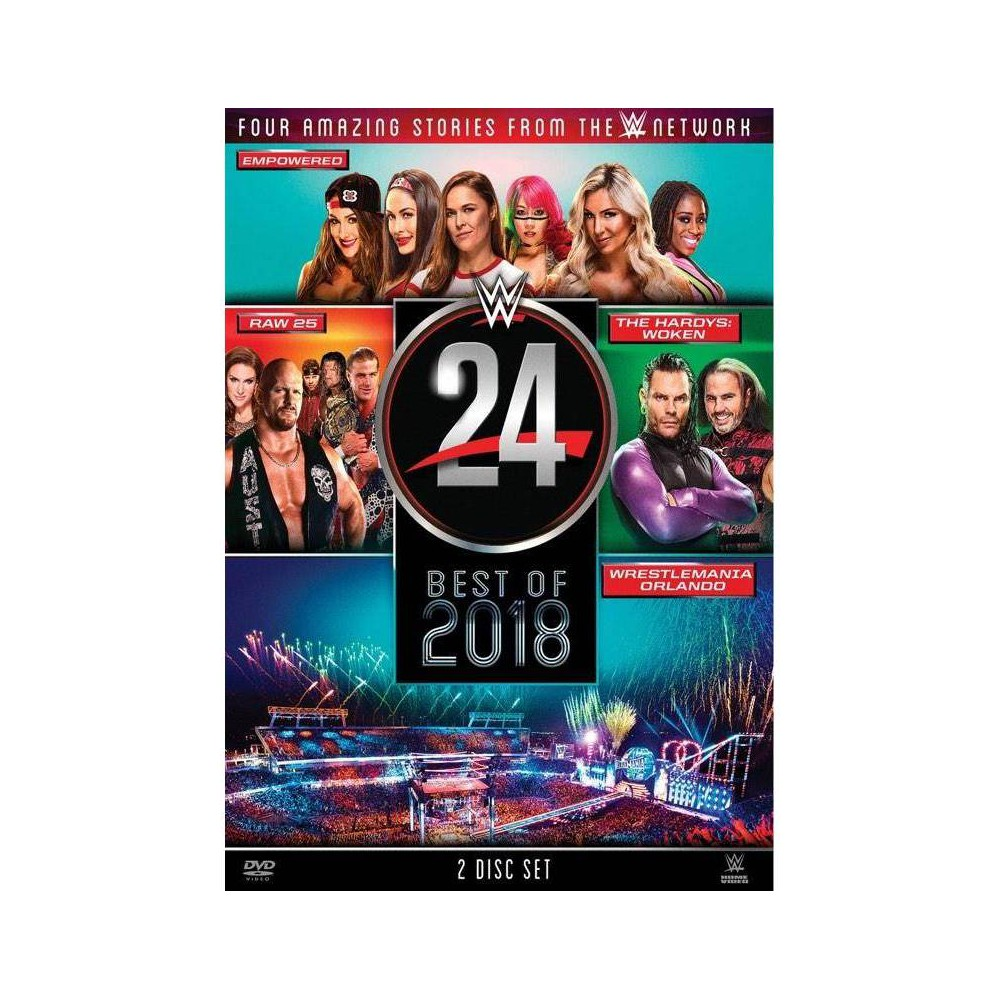 WWE: The Best of 2018 (DVD)(2018) Discounts
