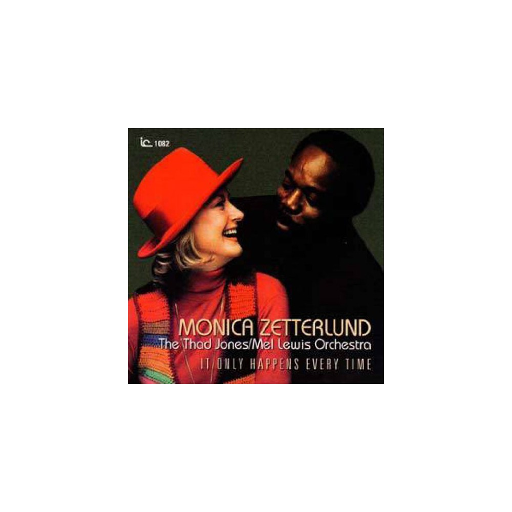 Monica Zetterlund - It Only Happens Every Time (CD)