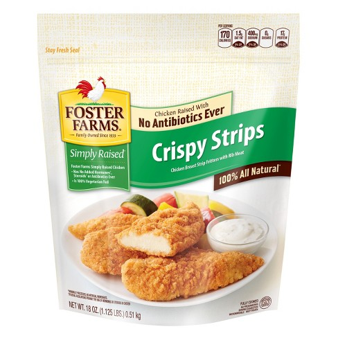 Foster Farms Crispy Chicken Strips -18oz - image 1 of 1