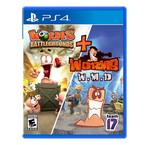 Worms: Battleground + Worms: W. M. D. - PlayStation 4 - image 1 of 4