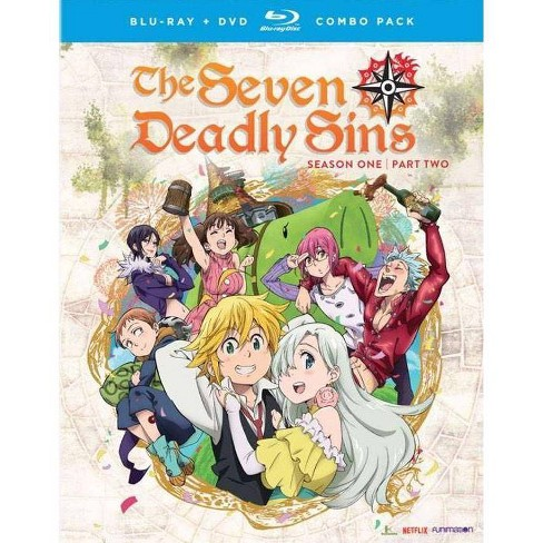 Seven Deadly Sins: Season One, Part Two (Blu-ray) - image 1 of 1