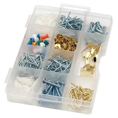 617pc. Assorted kitchen drawer supplies