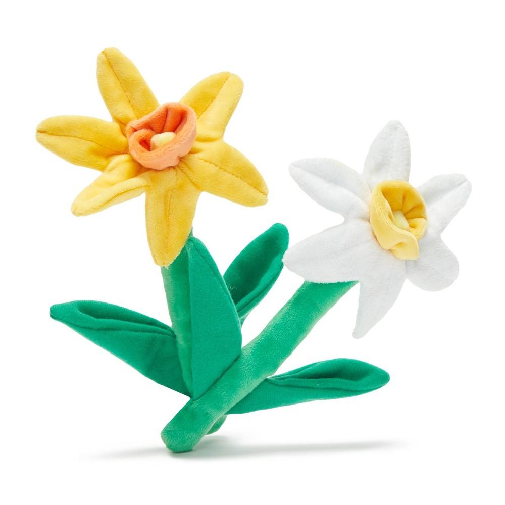 Bark Dilly-Dally Daffodils Flower Dog Toys