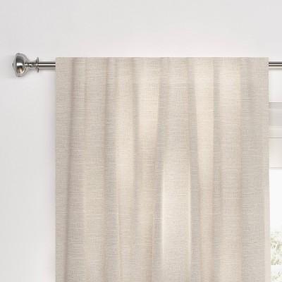 Textural Overlay Blackout Curtain Panel - Threshold™