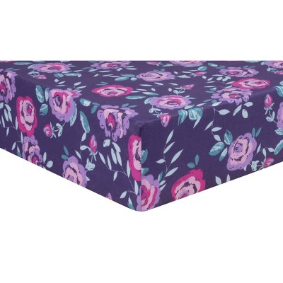 Trend Lab Fitted Crib Sheet - Floral