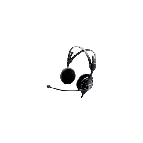 Sennheiser HMD 46-3-6 Lightweight Dual-Ear Open Boomset for Air Traffic Control with ActiveGard, Unterminated 1.85m Cable - image 1 of 1