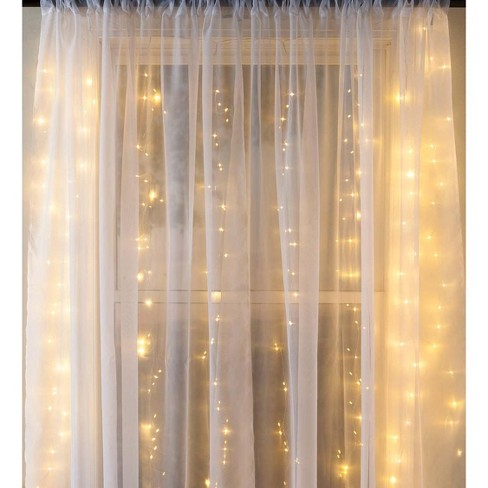 Electric Micro Curtain Lights On Silver Wire, 160 Lights - Plow & Hearth - image 1 of 1