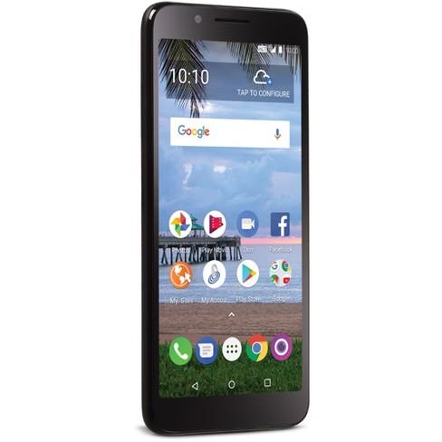 Tracfone Prepaid TCL LX (16GB) - Black
