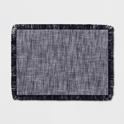 19 x14  Chambray Placemat Navy - Threshold™