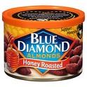 Blue Diamond Almonds Honey Roasted 6 oz