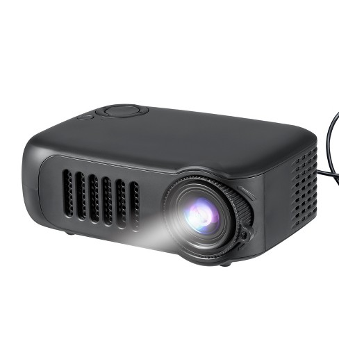 Dartwood Portable Mini Projector with HDMI, USB, and TF Memory Ports - Enhance Your Movie, TV and Gaming Experience in the Office or Bedroom - image 1 of 4