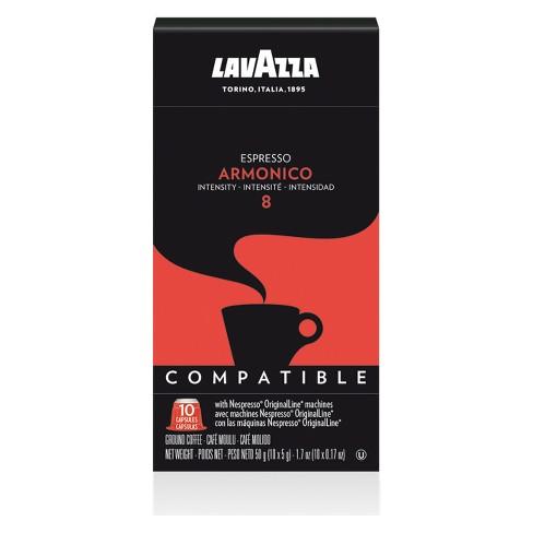 Lavazza Armonico Dark Roast Nespresso Compatible Capsules - 10ct - image 1 of 1