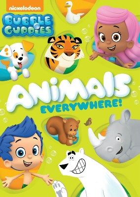 Bubble Guppies: Animals Everywhere! (DVD)