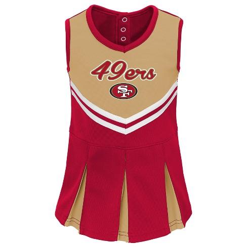 f84c6c134 NFL San Francisco 49ers Infant  Toddler In The Spirit Cheer Set   Target