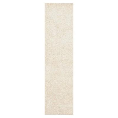 White Solid Tufted Runner - (2'3 X11' Runner)- Safavieh®