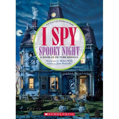 I Spy Spooky Night - by Jean Marzollo (Hardcover)