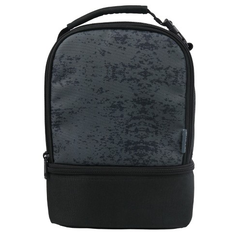 da29308f5c6cb4 IPack Dual Lunch Bag - Black/Gray : Target