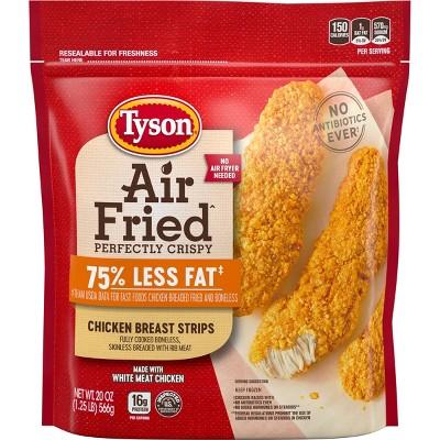 Tyson Air Fried Chicken Strips - Frozen - 20oz