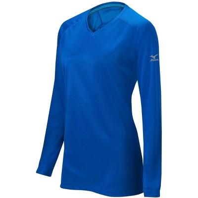 Mizuno Girl's Comp Long Sleeve Training Shirt