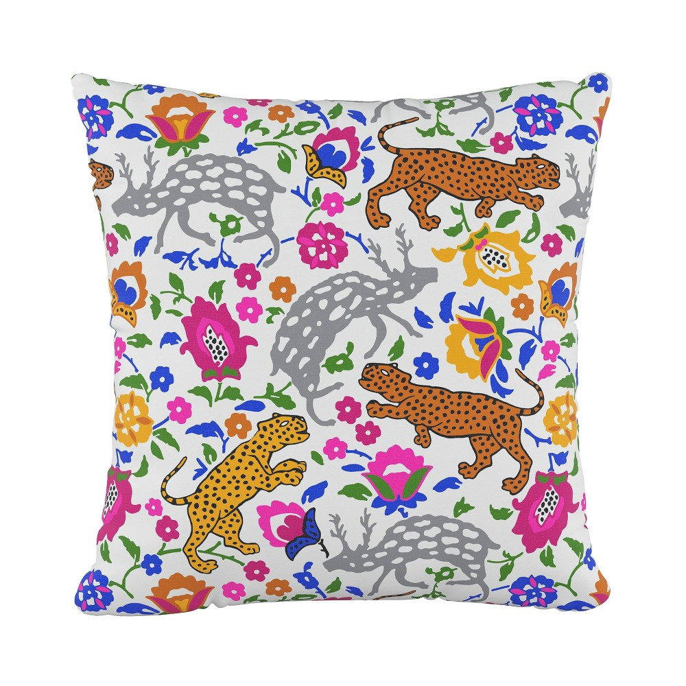 """Image of """"18""""""""x18"""""""" Leopard Print Square Throw Pillow - Cloth & Company"""""""