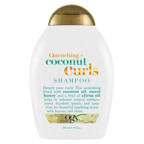 OGX Quenching+ Coconut Curls Shampoo - 13 fl oz - image 1 of 4
