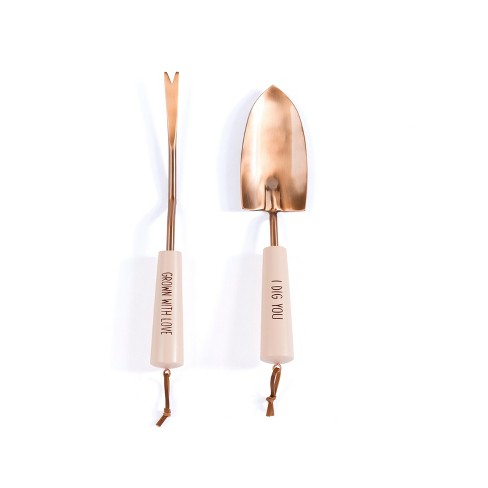 """""""I Dig You/Grow With Love"""" Set Of 2 Garden Tools - Shiraleah - image 1 of 1"""