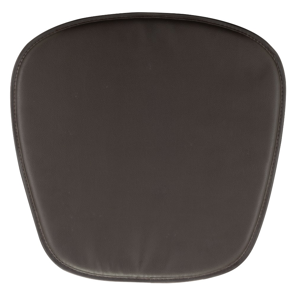 Image of Dining Chair Cushion Brown - ZM Home