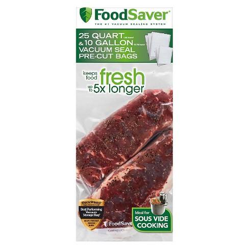 Foodsaver Multipack Vacuum Seal Pre Cut Bags