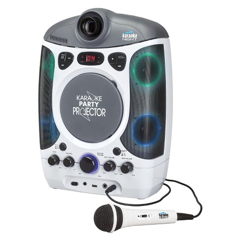 Karaoke Night CD+G Karaoke Machine with Projection of Lyrics on the Wall (KN600) - image 1 of 3