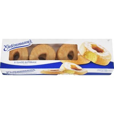 Entenmann's Glazed Buttermilk Donuts - 8ct/1lbs